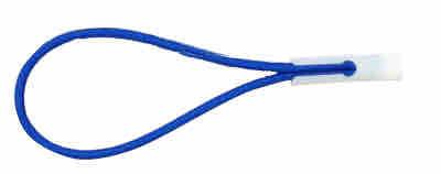 Expanderschlinge mit Knebel blau | Planengummi | Spannschlaufen | Bannergummi | Profit | Spanner|