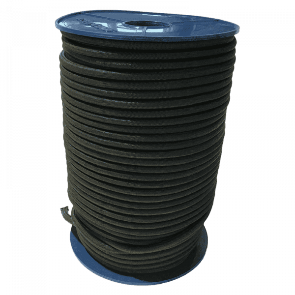 Expander touw | Rubber touw | Expander touwen | Natogreen | 10 mm | 100 meter rol | Expander | Rubberen touwen |