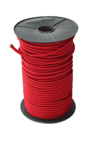 Expanderseil 6mm Rot ab 1 Meter | Bannerbefestigung | Bannerbefestigungen | Bannermontagen |
