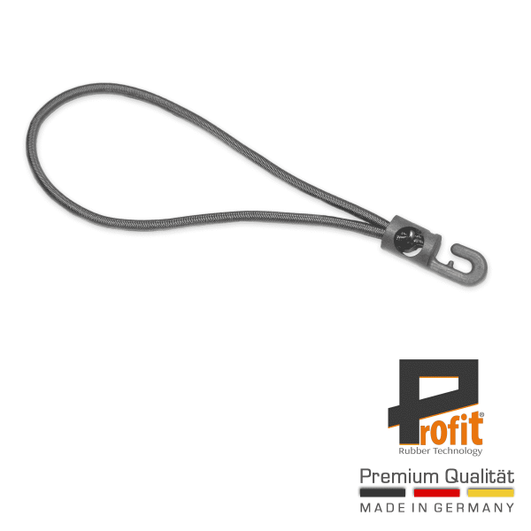 Rubber Tensioner | Expander Sling Grey 250mm | Expander Rubber | Expander Slings with Hook | Profit Rubber Technology
