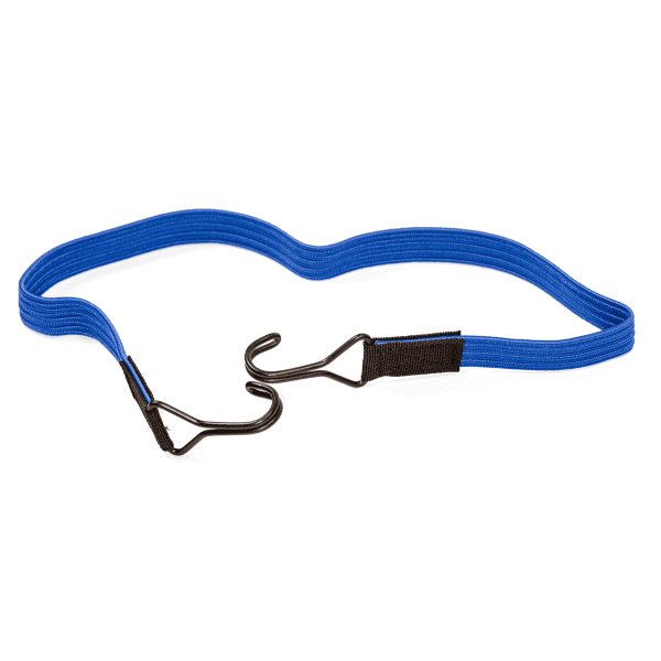 Elastic strap with 2 double hooks | www.spanngummishop.de | Tension rubber with 2 hooks | Load securing
