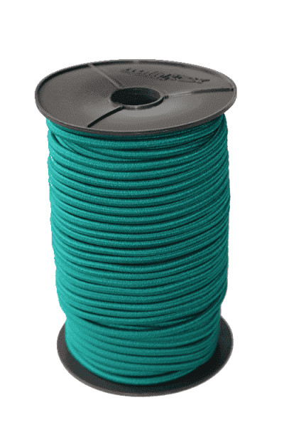 Expanding rope 9mm green 100 meters Monoflex polyethylene